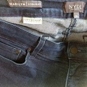 NYDJ Jeans - NYDJ Jeans Lift Tuck Marilyn Straight - Size 14